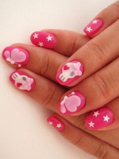 Cool Japenese Nail Art Trends 2012 - japan nails 2012