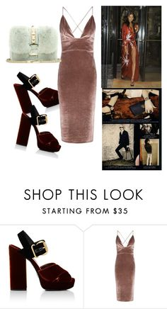 """""""velvet&fur"""" by lexiitaly ❤ liked on Polyvore featuring Prada, Boohoo and Valentino"""
