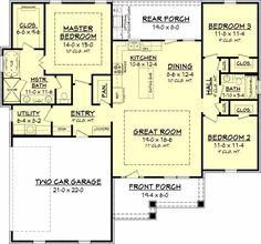 Main Floor Plan: 50-154