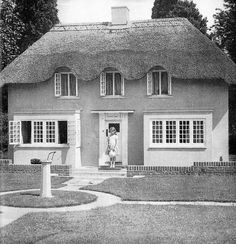 "The Queen and Princess Margaret were given a grand playhouse known as Y Bwthyn Bach (which means ""The Little House"" in Welsh) in 1932 by the Welsh people when she was six years old. It sits on the grounds of Windsor's Royal Lodge."