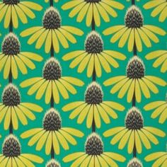 Anna Maria Horner - Pretty Potent - Echinacea in Dim by Bobbie Lou's Fabric Factory Graphic Patterns, Textile Patterns, Textile Design, Fabric Design, Pretty Patterns, Beautiful Patterns, Color Patterns, Floral Patterns, Boho Pattern