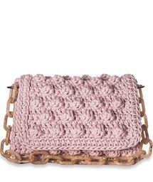 ONE & ONLY Pink Bubble Shoulder Bag < SHOULDER BAGS