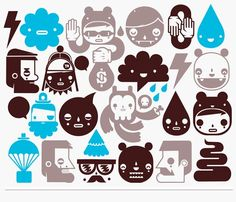 Extraordinary Sticker Designs For Brainwave