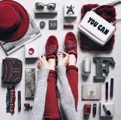 velvet shoes inspiration flat lat! <3 my account only for flat lays on instagram @coolflatlays