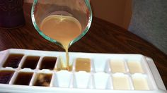 Coffee Ice Cubes: make iced coffee without watering it down
