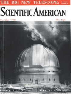 Scientific American is the essential guide to the most awe-inspiring advances in science and technology, explaining how they change our understanding of the world and shape our lives. Scientific American, Our Life, Telescope, Science And Technology, Pop Culture