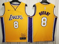 bbb8c968b18 SOLD US$18 The Lakers 8 yellow retired a limited edition of Los Angeles  Lakers