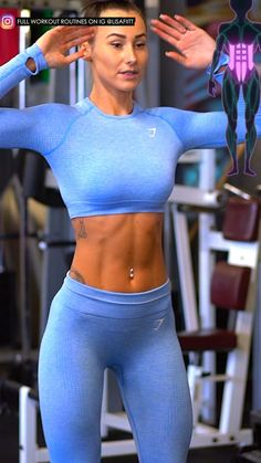 Fitness Workouts, Gym Workout Videos, Gym Workout For Beginners, Fitness Workout For Women, At Home Workouts, Workout Plans, Workout Ideas, Full Body Gym Workout, Butt Workout
