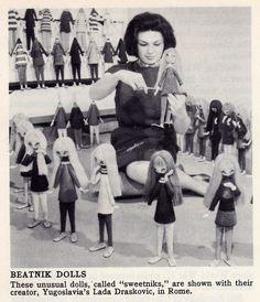 Retro Beatnik Dolls Called 'Sweetniks'