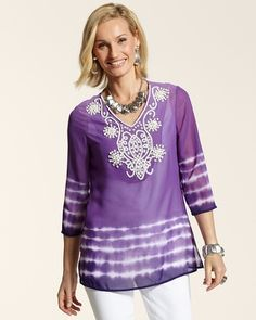 Chico's--Purple top--LOVE this so much