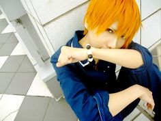 Kyo Sohma from Fruits Basket Epic Cosplay, Comic Con Cosplay, Cute Cosplay, Amazing Cosplay, Cosplay Costumes, Anime Cosplay, Cosplay Ideas, Costume Ideas, Fruits Basket Cosplay