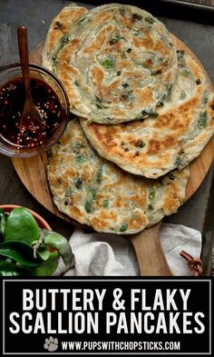 Buttery Scallion Pancakes- Buttery Scallion Pancakes Save Images Quick and Easy Buttery & Flaky Scallion Pancakes Recipe made with puff pastry! Buttery Scallion Pancakes Quick and Easy Buttery & Flaky Scallion Pancakes Recipe made with puff pastry! Pastry Recipes, Cooking Recipes, Best Pancake Recipe, Pancake Recipes, Coffe Recipes, Good Food, Yummy Food, Asian Cooking, Clean Eating Snacks