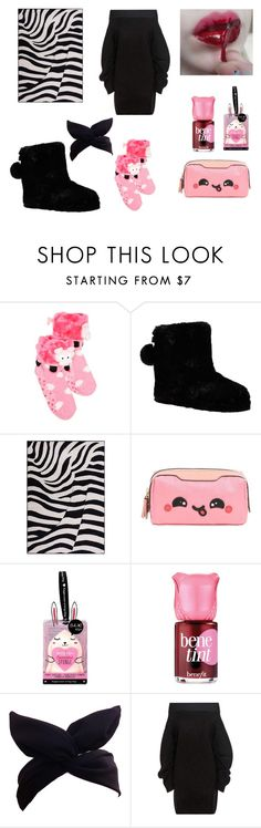 """""""Home zeubra look"""" by shiki-sakurai on Polyvore featuring мода, New Directions, Ted Baker, Anya Hindmarch, Oh K!, Benefit и Opening Ceremony"""