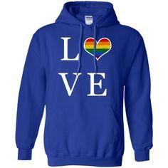 Gay Love Pullover Hoodie 8 oz