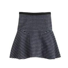 J. Crew Skirts | Nwt J Crew Navy Stripe Tweed Plaza Skirt | Poshmark Italian Leather Shoes, J Crew Men, Tailored Suits, Navy Stripes, Cashmere Sweaters, Mens Suits, Tweed, Skater Skirt, Skirts