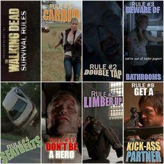 Hardcore the Walking Dead Fans