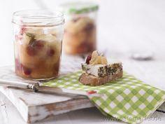 Birnen-Cranberry-Chutney - smarter - mit Zitrone und Kardamom. Kalorien: 48 Kcal | Zeit: 35 min. #recipe