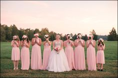 The wedding day of two small town heroes - a firefighter and a nurse. The Inn at Warner Hall in Gloucester, VA provided a gorgeous backdrop for the BIG day. Pink Bridesmaids, Bridesmaid Dresses, Wedding Dresses, Dream Photography, Golden Hour, Small Towns, Pretty Pictures, Firefighter, Big Day