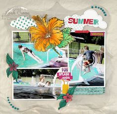 Layout: Clear Scraps Acrylic Layout
