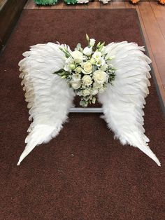 Flower Box Gift, Flower Boxes, Silk Flowers, Colorful Flowers, Funeral Floral Arrangements, Cemetery Decorations, Angel Wings Wall, Cemetery Flowers, Funeral Flowers
