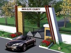 Image result for entrance gate design for township