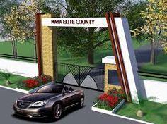 entrance gate design for township ile ilgili görsel sonucu Entrance Gates, Main Entrance, Grand Entrance, Main Gate, Main Door, Compound Wall, Guard House, Independent House, Archi Design