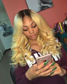 High qualtiy human hair products ...Like look?  Follow us on FB for more cool looks and hair care: https://www.facebook.com/dchairextensions/