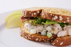 Roast Chicken Salad Sandwich