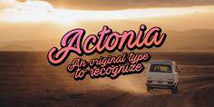 Actonia Font | dafont.com
