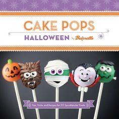 Trick out Your Treats with Cake Pops Halloween!