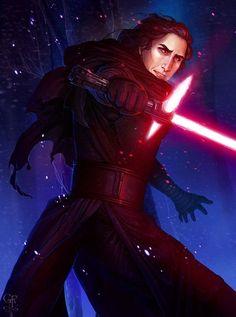 The Force Awakens - Boreas by ghostfire on DeviantArt Star Wars Planets, Fanart, Episode Vii, Star Wars Fan Art, Reylo, Star Wars Episodes, The Villain, Vulnerability, Pop Culture
