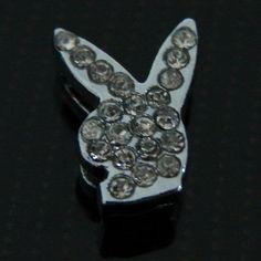 Playboy slider for a 8mm bracelet for sale at: http://www.trendygoodies.nl/Playboy-Slider/Schuiver-8mm