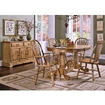Thresher's Too 5 Piece Small Oval Hard Wood Dining Set in Light Oak Dining Room Furniture Sets, Dining Room Sets, Outdoor Furniture Sets, Dining Table, Outdoor Decor, Light Oak, China Cabinet, Hardwood, Kitchens