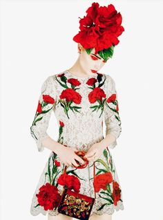 """May Blossoms"" Naty Chabanenko for Harper's Bazaar UK May 2015 - Erik Madigan Heck"