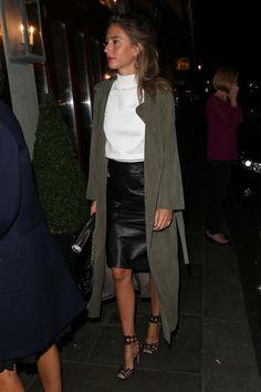 Jemima Jones Photos - Jemima Jones sighted at Daphne's Restaurant during London Fashion Week at Daphne's on September 20, 2015 in London, England. - Sightings at Daphne's Restaurant During London Fashion Week