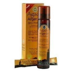 Agadir Argan Oil Spray Treatment 5.1oz by Agadir. $15.95. 100% Genuine. Salon Professional hair care product. This spray treatment is ideal for applying to longer hair lengths for ease in coverage, enabling protection from heat appliances and a smoother comb through. Agadir Argan Oil Spray Treatment instantly repairs and adds elasticity to dry, damaged, frizzy ha. Save 73% Off!