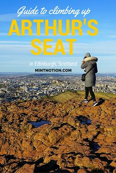 Located at the highest point in Holyrood Park, Arthur's Seat is a dormant volcano which gives incredible views of the city. It sits at 251 m above sea level and is a must visit spot for anyone traveling to Edinburgh.