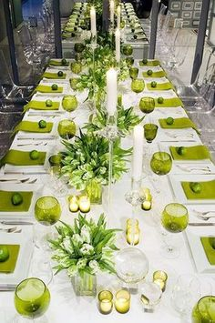 Lime is pure freshness, so crispy and so cool! I think it's one of the best ideas for a spring affair after a long and colorless winter. Lime will make your big day super fresh and colorful, and it goes well not only with white but also with peach, coral, navy...