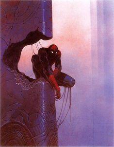 Spider-Man — Moebius