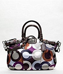 Love the colors in this purse - maybe my NEXT coach purse?