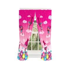 Franco Kids Room Window Curtain Panels Drapes Set, x Trolls Ceiling Curtains, Privacy Curtains, Kids Curtains, Window Curtains, Room Window, Pink Bedroom For Girls, Boys Bedroom Decor, Window Panels, Curtain Panels
