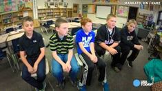 Boys' reaction to bullying will melt your heart - YouTube