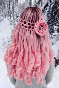 #hair #pinkhair #braids #hairstyles #hairideas #hairinspo #pinkbraid #hairinspiration #braidstyles