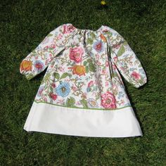 2T Toddler Peasant Dress Vintage Floral by ashleyNEF on Etsy, $12.00 - Maybe for a niece's Christmas present this year :)