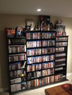 Running on out room on my media Shelf.