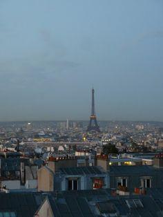 Paris- this  IS L'heure bleue.