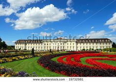 Royal palace and palace garden. Baden-Wurttemberg, Ludwigsburg, South Germany by Yuriy Davats, via Shutterstock