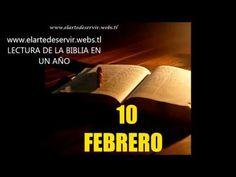Lectura de la Biblia en un año (Febrero 10 Biblia MP3)