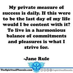 #janerule #success #balance #work #play #quotes