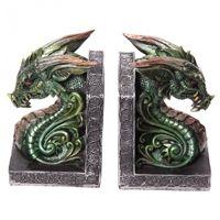 Serre-Livres Dragons verts Décorations Diverses Dragons